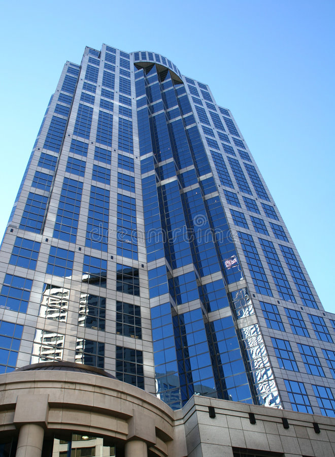 Seattle skyscraper stock photography
