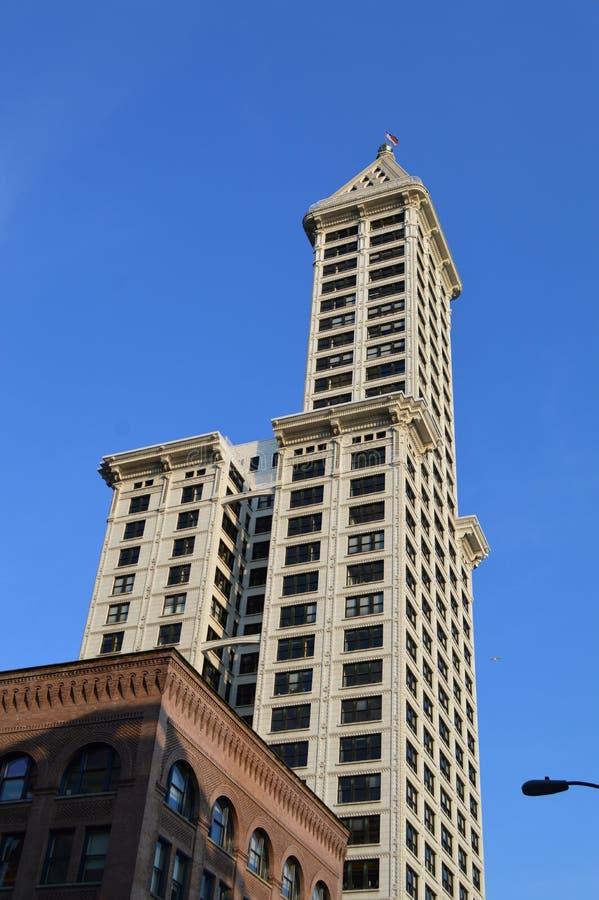 Seattle Smith Tower image libre de droits
