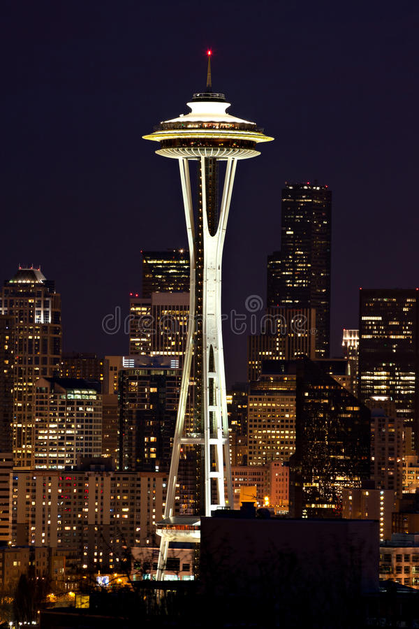 Seattle Space Needle royalty free stock photography
