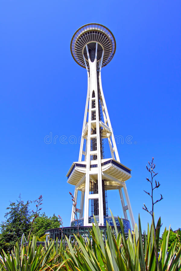 Download Seattle Space Needle stock photo. Image of blue, needle - 22598272