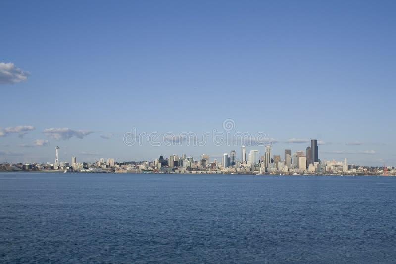 Download Seattle city skyline stock photo. Image of sound, urban - 29983876