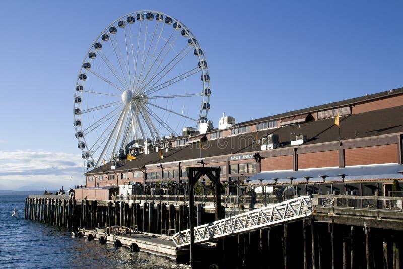 Seattle strand arkivbilder