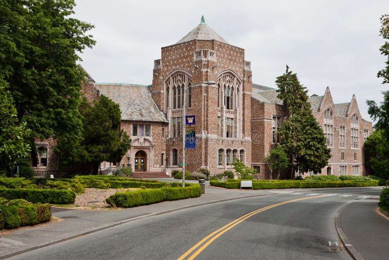 seattle uniwersytet Washington fotografia royalty free