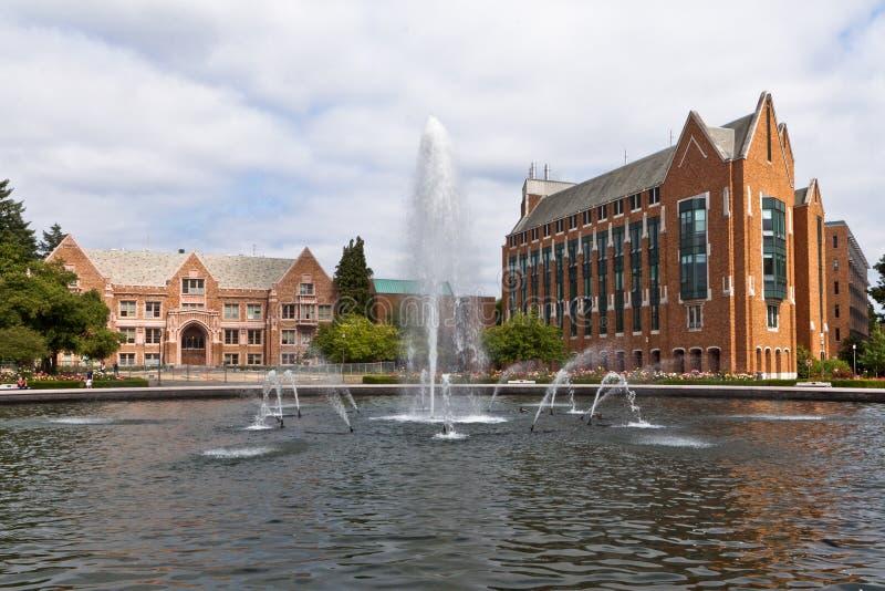 seattle uniwersytet Washington obrazy stock