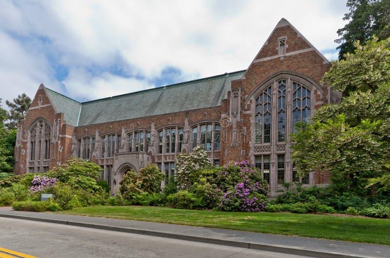 seattle uniwersytet Washington zdjęcie stock