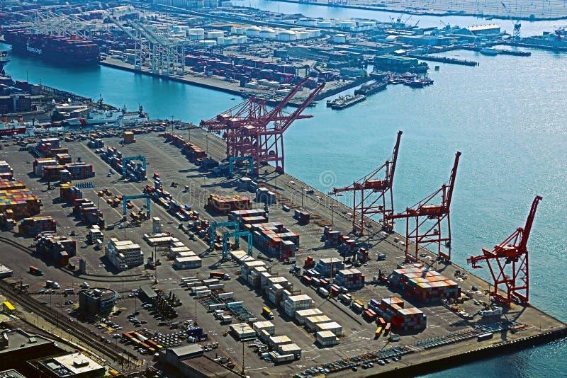 Seattle, USA, am 31. August 2018: Der Hafen von Seattle, USA stockbild
