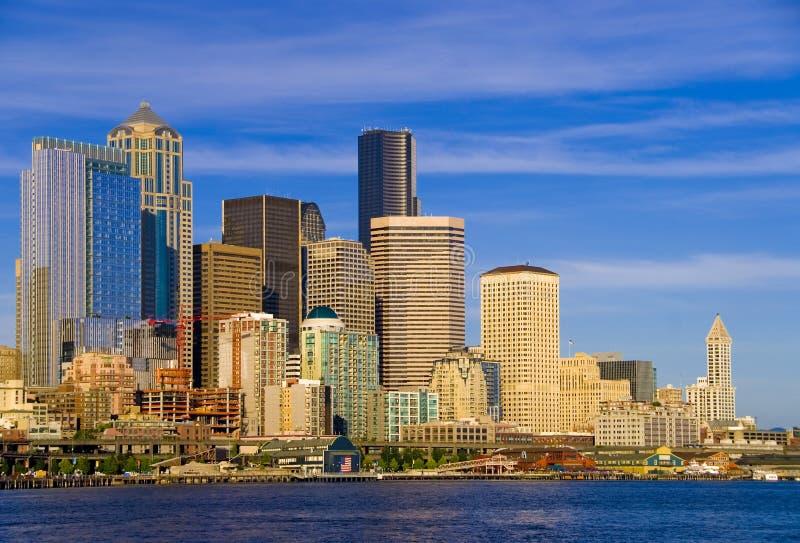 Seattle van de binnenstad royalty-vrije stock foto