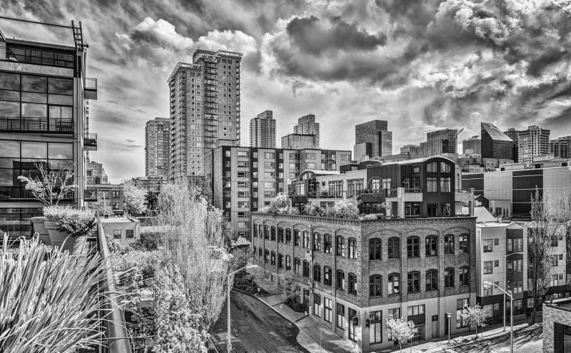 Seattle vazio imagens de stock royalty free