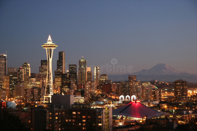 Seattle, WA royalty-vrije stock foto's