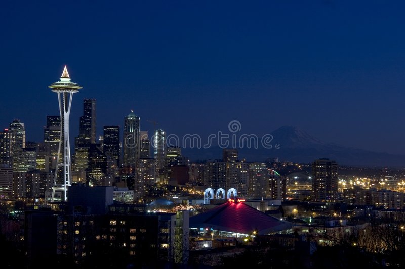 Seattle, WA foto de stock