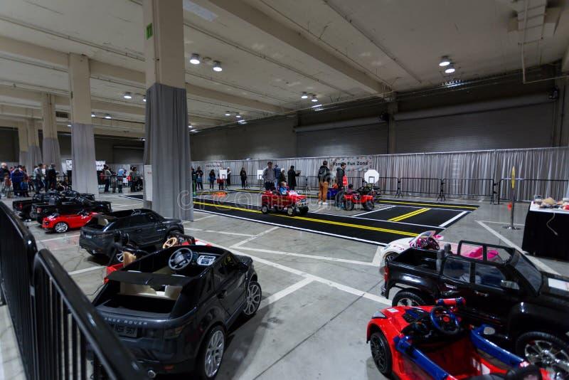 SEATTLE, WA - LISTOPAD 12, 2017: Seattle Międzynarodowy Auto przedstawienie fotografia royalty free