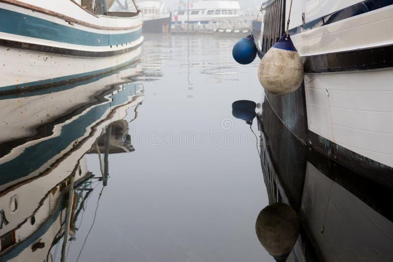 SEATTLE, WA - 28 OCTOBRE 2017 : Terminal du ` s de pêcheurs photo libre de droits