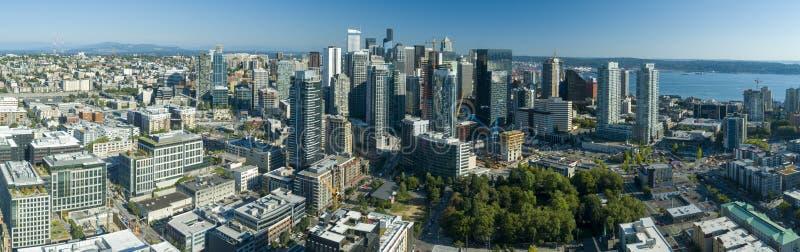 Seattle Washington Downtown Core Skyscrapers e prédios de escritórios fotos de stock