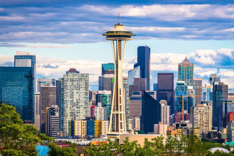 Seattle, Washington, EUA fotos de stock