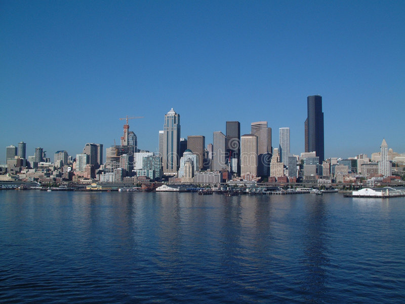 Seattle on the Water royalty free stock image
