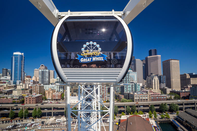 Seattle Wielki koło obrazy royalty free