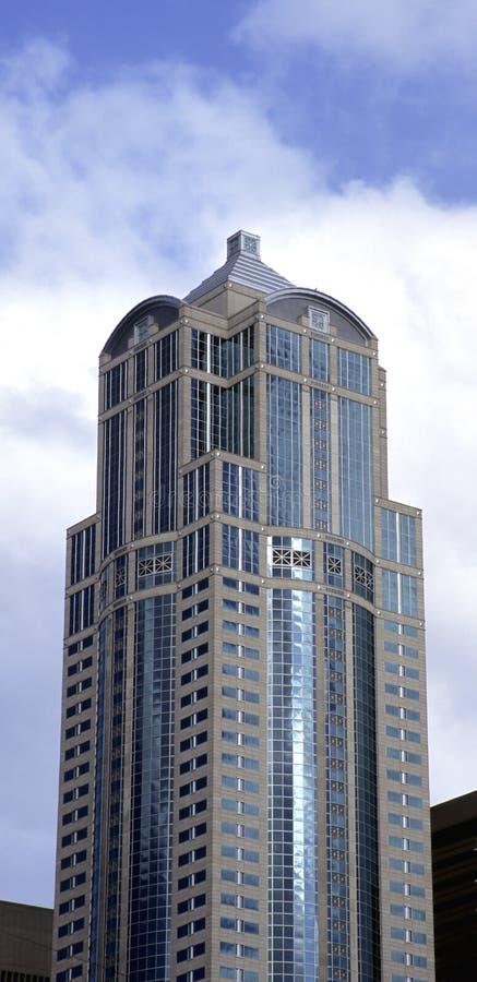 Seattle-Wolkenkratzer lizenzfreies stockfoto