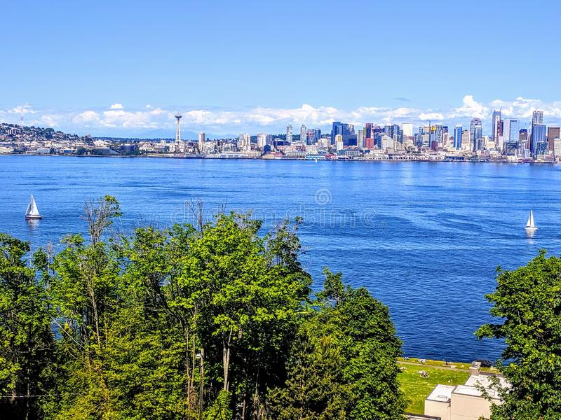 SeattleView zdjęcie royalty free