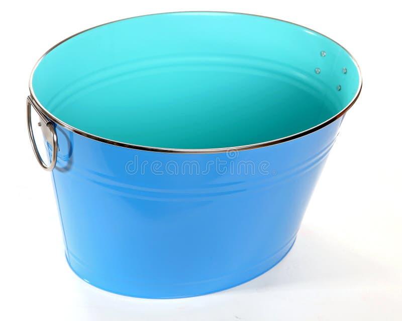 Seau bleu photos stock