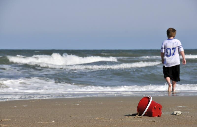 Seau de sable photo stock