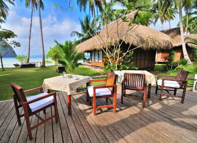 Seaview Gaststätte lizenzfreies stockbild