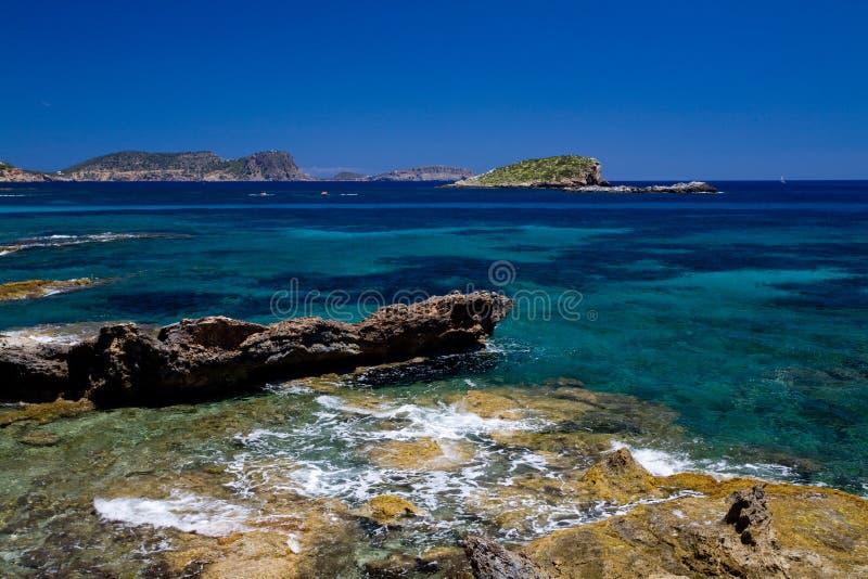 seaview méditerranéen images stock