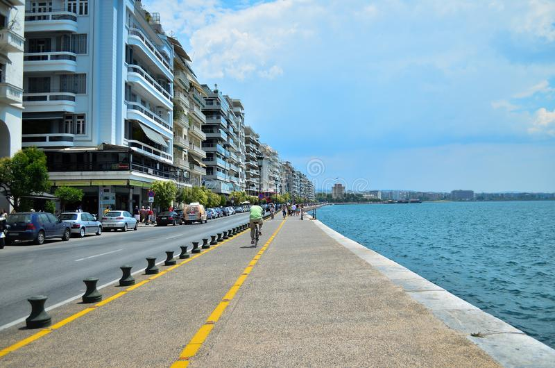 Thessaloniki. Greece stock photos