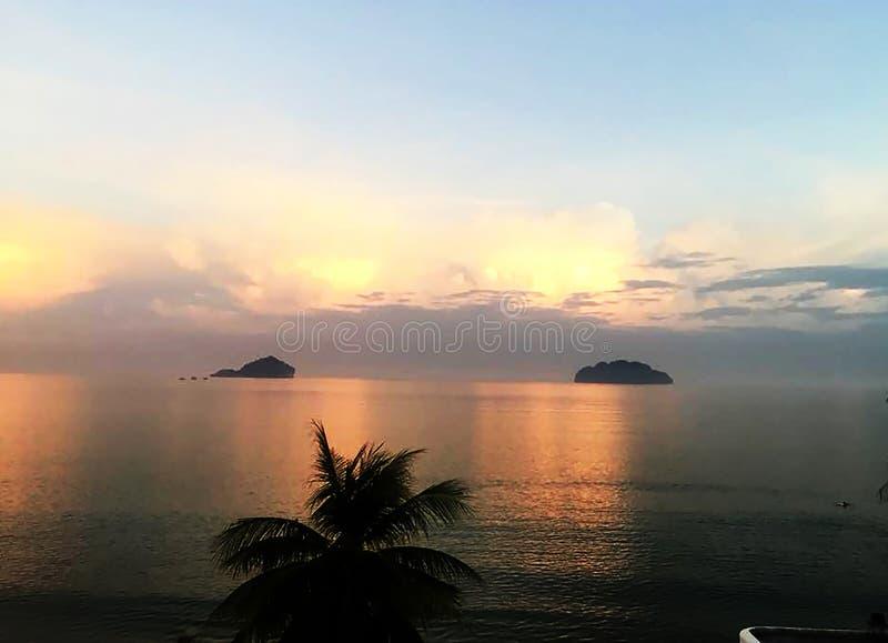 Seaview prognos Thailand royaltyfria bilder