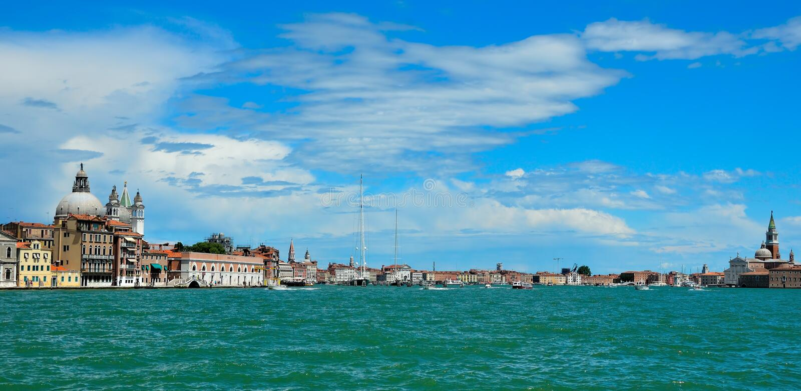 Download Seaview of Venice, Italy stock image. Image of campanile - 16676661