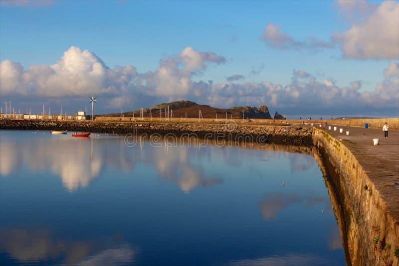 Seawall marina stock photos
