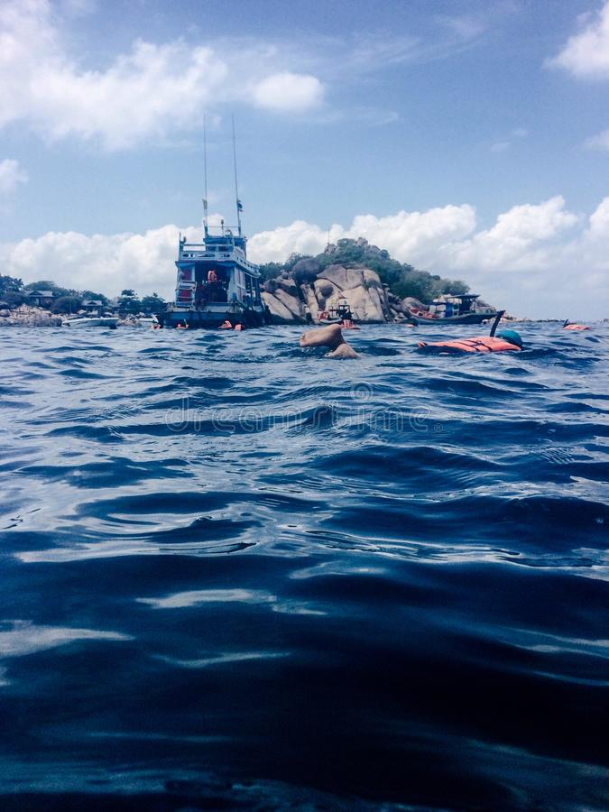 Seawaves zdjęcia royalty free