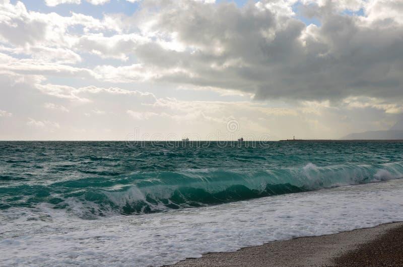 Seawaves 库存照片