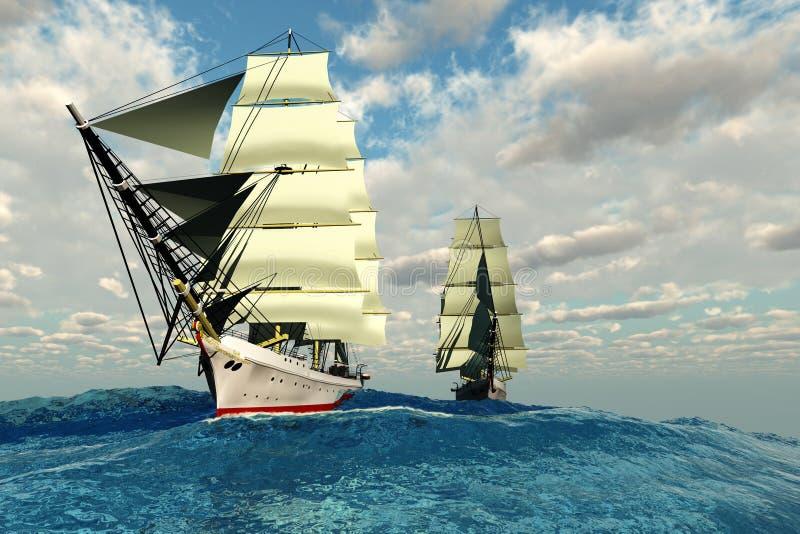 Seaway imagens de stock royalty free