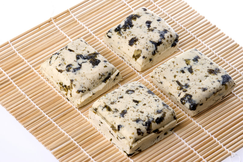 Download Seaweed Organic Tofu Isolated Royalty Free Stock Photography - Image: 7535567