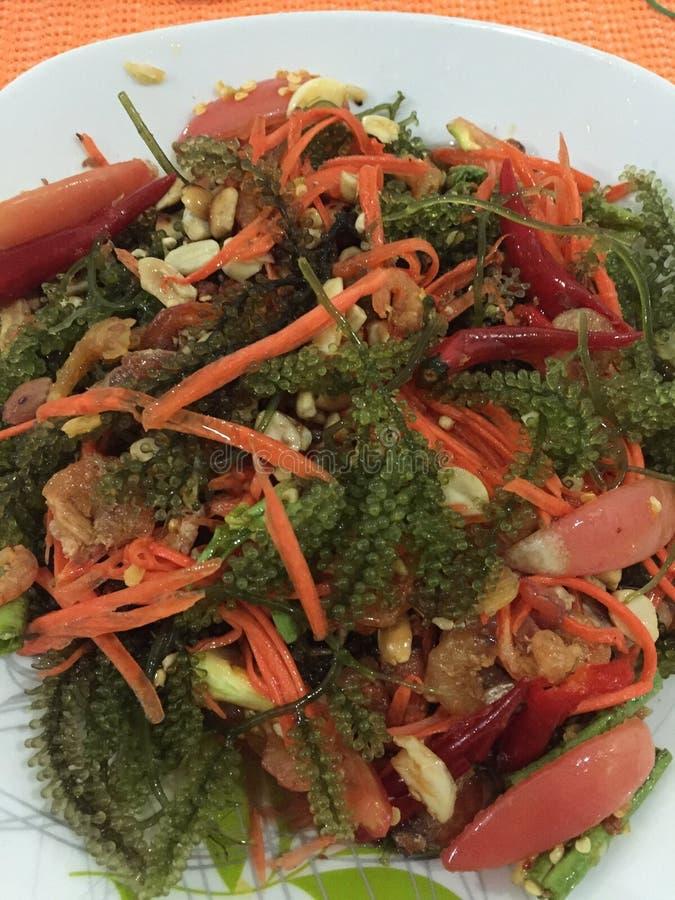 Seaweed yummy stock photography
