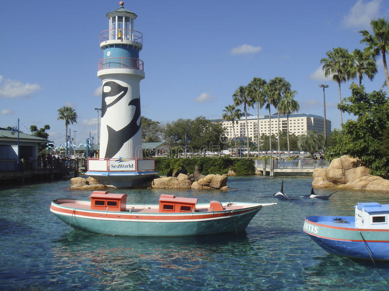 SeaWorld, Orlando fotografie stock