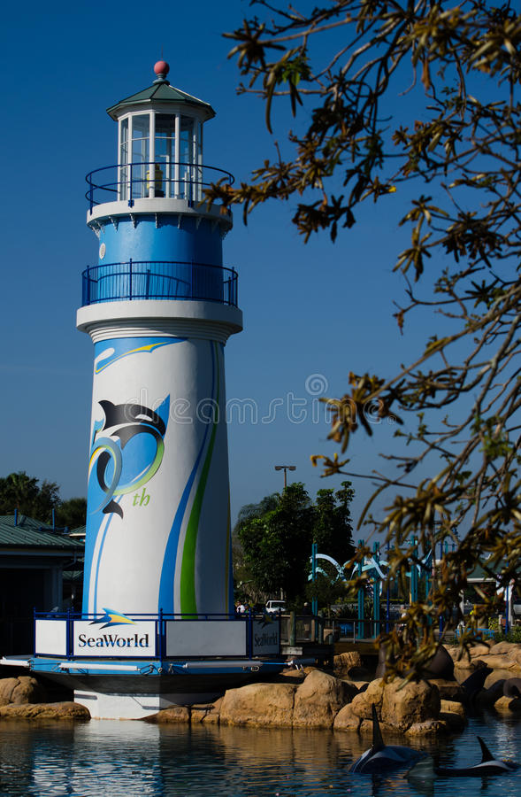 SeaWorld, Orlando photo libre de droits