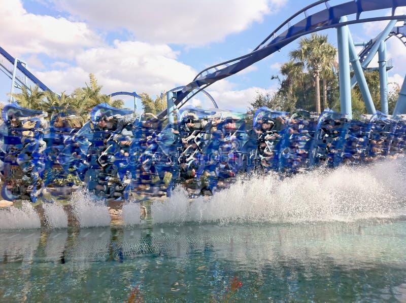 SeaWorld Orlando Manta imagens de stock