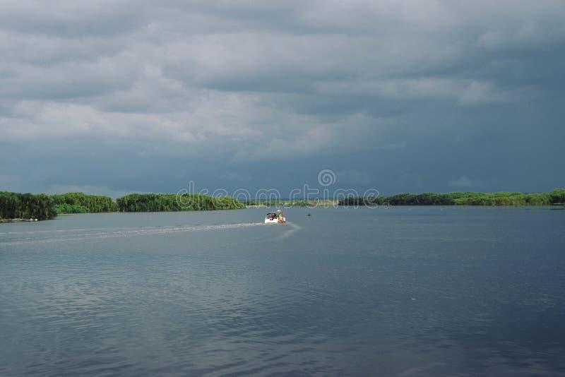 Sebangau rzeka obraz stock