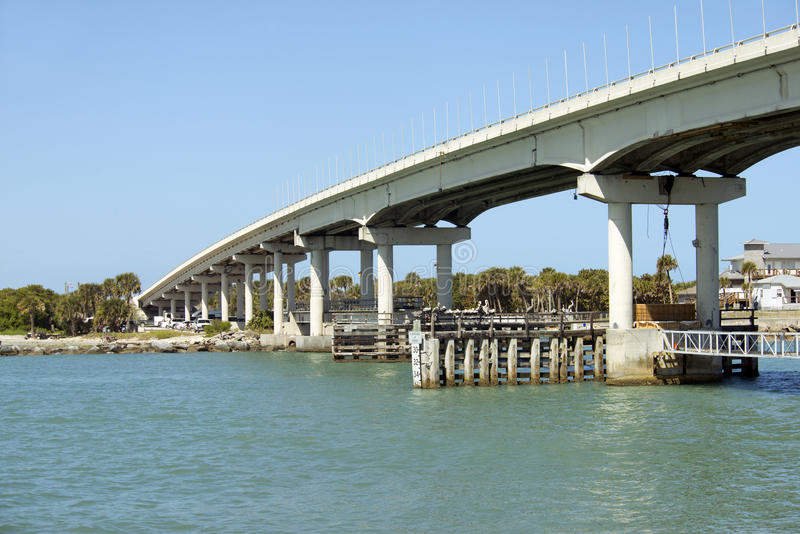 Sebastian Bridge royaltyfri bild