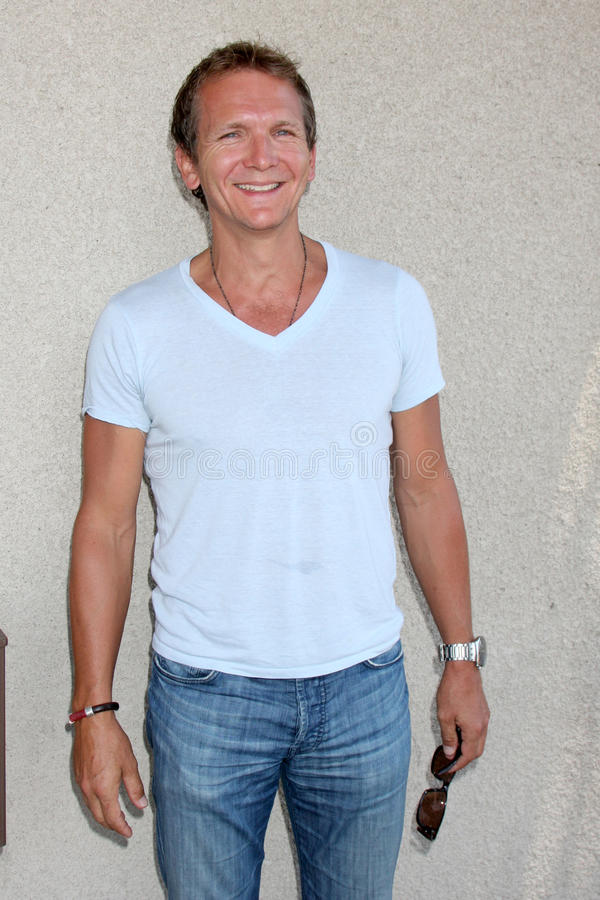 Sebastian Roche. Arriving at the General Hospital Fan Club Luncheon at the Airtel Plaza Hotel in Van Nuys, CA on July 18, 2009 stock image
