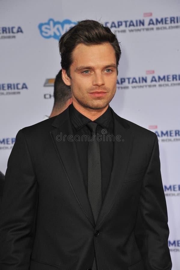 Sebastian Stan foto de archivo
