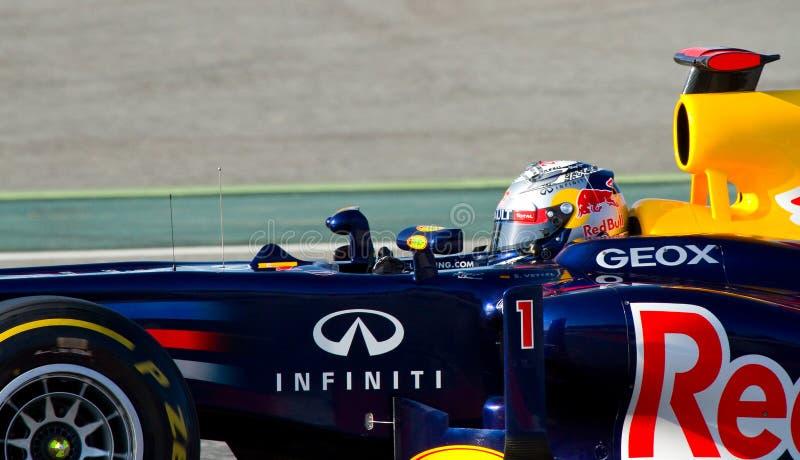 Sebastian Vettel photographie stock libre de droits