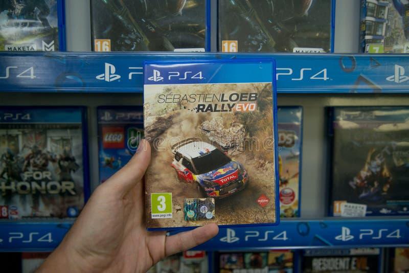 Sebastien Loeb Rally Evo photos libres de droits