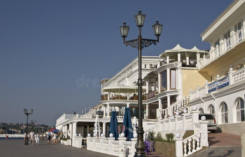 Sebastopol, de Krim, de Oekraïne stock afbeeldingen