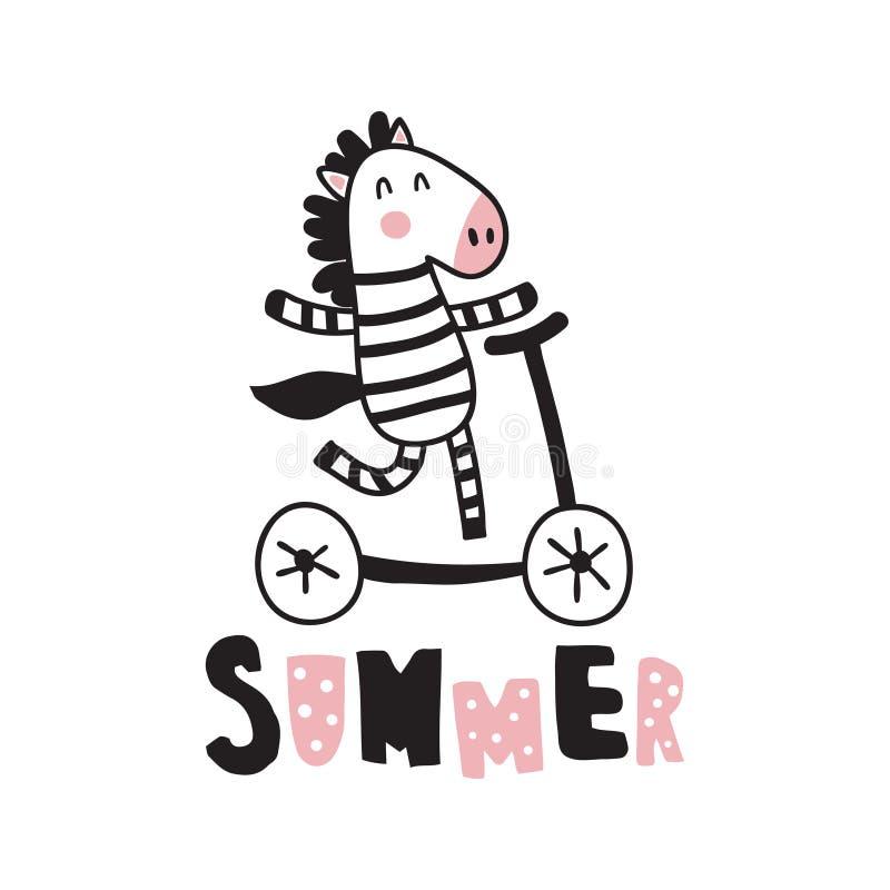 Sebra stock illustrationer
