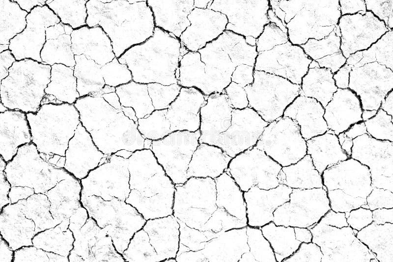 Sec de la texture du sol fêlé arrière-plan stérile de sécheresse manque photo libre de droits