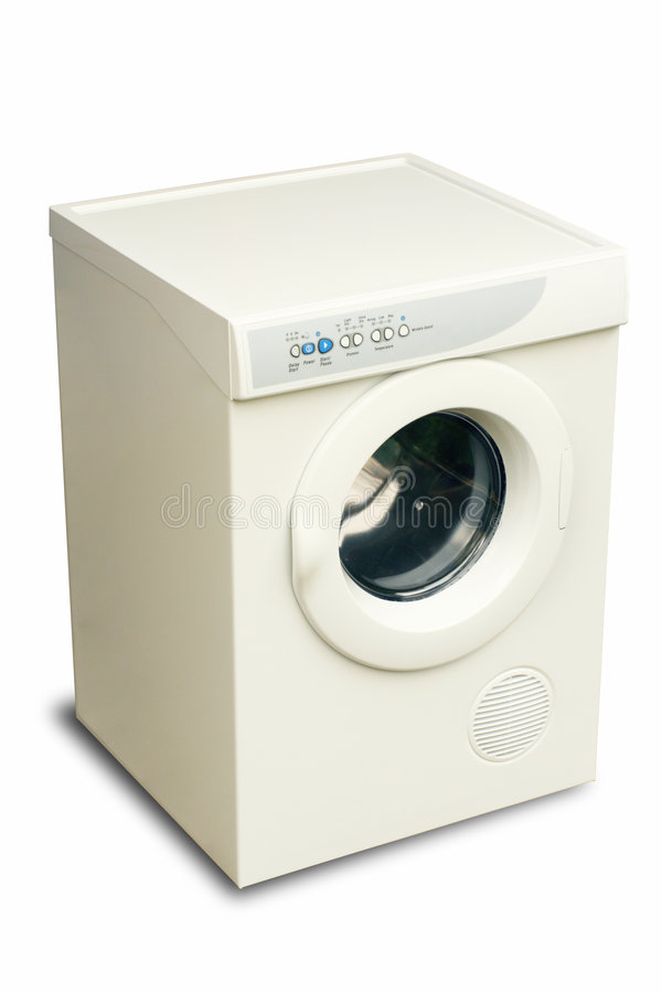 Secador 1 da lavanderia foto de stock