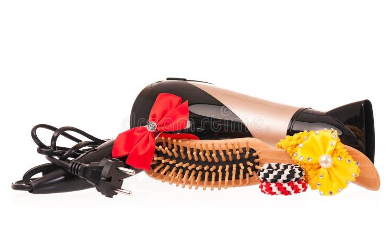 Secador de pelo imagen de archivo libre de regalías