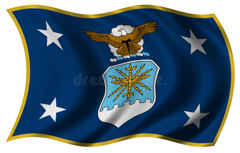 secaf bandery ilustracji